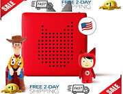 Toniebox Starter Set Red + Disney Toy Story - Educational Musical Toy For Boys