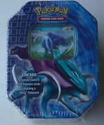 Vintage Pokemon Suicune Legendary Collector's Tin Trading Card Game Ccg Sealed