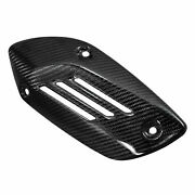 Mos Carbon Fiber Parts Exhaust Pipe Cover15-18 For Vespa Sprint
