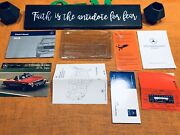1988 Mercedes Benz 560sl 560 Sl Owners Manual Set Type 107 Edt C Red Tab Rare