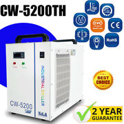 Ny Sanda Water Chiller Cw-5200th 220v 60hz For 130-150w Co2 Laser 8kw Spindle