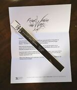 Roger Waters Rare 2012 The Wall Bracelet With Letter. Collectible