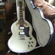2013 White Gibson Sg With Upgrade And Hsc