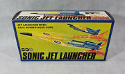 Vintage Sonic Jet Launcher, Marx Toys, Boxed, Complete, Rare, Collectable