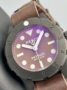Resco Patriot Generation 1 Rare Brown Dial 42mm Navy Seals Swiss Automatic Pvd