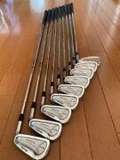 Mizuno Soft Iron Forged Iron T-zoid Mx-23 9 Pieces Set Used From Japan Fedex