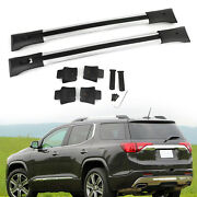 Roof Rack Cross Rail Package Silver 84130842 Fits Gmc Acadia Gm 2010-2017 Usa