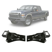 New Set Of 2 Front Bumper Bracket Retainer For Ford F250 F350 F450 Sd 2008-2010