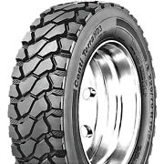 2 Tires Continental Contiterra Hd3 225/70r19.5 G 14 Ply Commercial