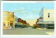 Eagle Pass Tx The Business Section Aztec Theatre Rexall Drugs Texas Electric