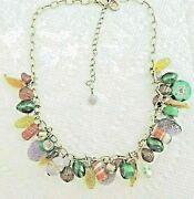 Pilgrim Danish Designs Colorful Hard Candy Style Beaded Charm Necklace