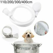 Shower Head Tap Push On Bath Shower Head And Hose Set For Kids Or Pets
