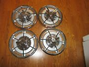 1963 Corvette Hubcaps Restored To Like New [set Of 4 Hubcaps]