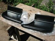1955-59 Chevy Truck Right And Left Short Bed Steps New