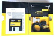 Fluke Sw90w Flukeview Scopemeter Software For Windows Includes Cable, Adapters