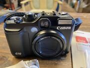 Canon Powershot G10 14.7mp Digital Camera With User Guide Cd