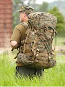 Usmc Ilbe Arcand039teryx Gen 2 Marpat Main Pack Field Backpack W/ Lid For Hike/hiking