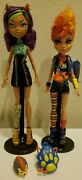 Monster High Clawdeen And Howleen Wolf Werewolf Sisters Twin Pack Dolls
