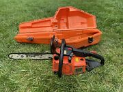 Vintage Stihl 011av Chainsaw Electronic Quickstop - Collectible Chain Saw