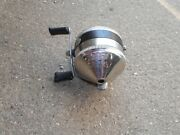 Zebco Spinner Model 33 Metal Casting Reel Spincasting Fishing Made In Usa