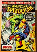 The Amazing Spiderman 120 May 1973 The Fight And The Fury High Grade Copy Gem