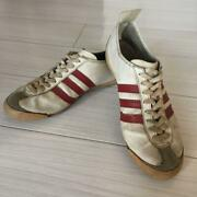 Adidas Vintage Vienna White X Red Made In West Germany Men 9.5us