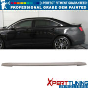 Fits 13-15 Ford Taurus Oe Style Flush Mount Trunk Spoiler - Oem Painted Color