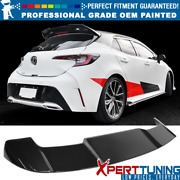 Fits 19-21 Toyota Corolla Hatchback Oe Style Roof Spoiler - Oem Painted Color