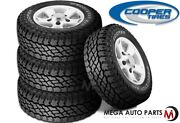 4 New Cooper Discoverer S/t Maxx Lt265/75r16 123/120q 10p Owl M+s As Truck Tires