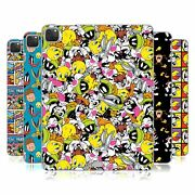 Official Looney Tunes Patterns Soft Gel Case For Apple Samsung Kindle