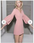 Alexie Size M Dusky Pink Dress New With Tags Rrp 590
