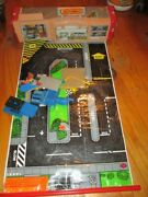 Vtg Matchbox Toy Roll Out Race Track Plus Accessories Please Look At Pictures