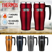 Thermos Stainless King Travel Coffee Mug Hot Cold Insulated Vacuum Flask 470ml
