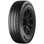 4-285/65r16 Continental Vanco Contact A/s 131r E/10 Ply Bsw Tires