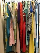 Vintage Clothing Dress Lot Womens 20pcs Resale 1960s 1970s 1980s Resell Romper