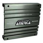 Pyramid 3000 Watt 2-channel Car Audio Amplifier Power Amp Stereo Mosfet Used