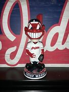 Chief Wahoo Bobblehead Cleveland Indians Mascot Brand New In Box