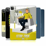 Official Star Trek Iconic Characters Tos Soft Gel Case For Apple Samsung Kindle