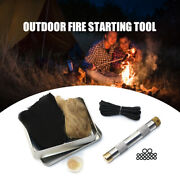 Fire Piston Kit Fire Starting Tool 2 O Rings For Survival A1s2