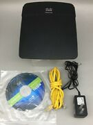 Linksys Cisco E1200 N300 Wireless Wifi Router - Fast Shipping - A22