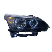 New Passenger Side Right Xenon Type Head Lamp Lens And Housing Incl Auto Adjust