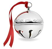 Wallace 2021 Sterling Sleigh Bell Ornament 27th Edition Brand New In Box
