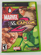 Marvel Vs Capcom 2 Xbox 2003 Complete W/ Case And Booklet In Good Condition