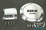 2006 Harley Road King Touring Chrome 103 Years Derby Inspection Cover Set