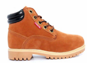 546989-b43 Tobey Ythand039s M Red Wood/black Nubuck/leather Laced Up Boots