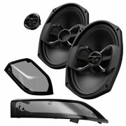 Infinity Kappa Perfect 900x 6x9 Bag Lid Speakers - Includes Grilles