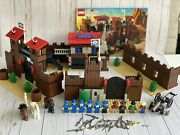 Lego Western Fort Legoredo 6769 W/ Manual And All Minifigs - Vintage