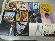 35 Vintage Vinyl Records 45rpm Records Mostly '80s Music