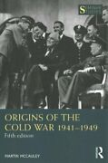 Origins Of The Cold War 1941-1949 By Martin Mccauley 9780367858360 | Brand New