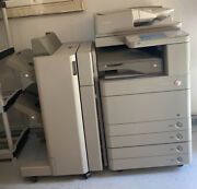 Canon Imagerunner Advance With Finisher 4 Paper Drawers Previously Refurbishe